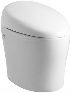KOHLER K-4026-0 Karing Skirted One-Piece Elongated Toilet